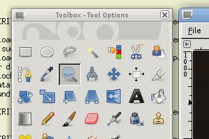 GIMP on GTK+ 3.0